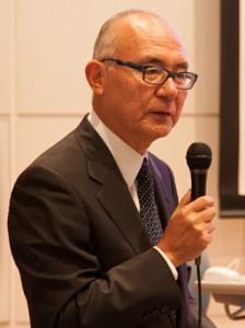 前会長の久米五郎太さん
