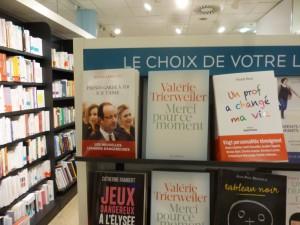 9月初旬の発売と同時にベストセラーになったトリルベレール女史の本「Merci pour ce moment」