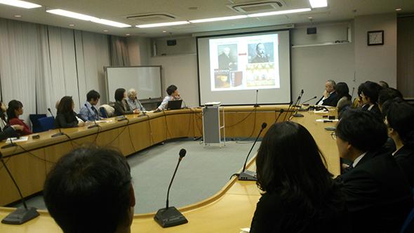 講演会『フランス料理の視点での日仏間の経済的緊密化とその発展』