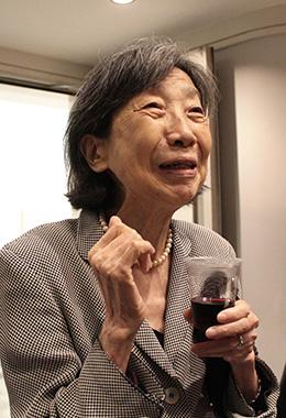 ケイコさんに日本語を教えていたこともあるという渡辺清子さん。その情熱をそばで感じていたそう。