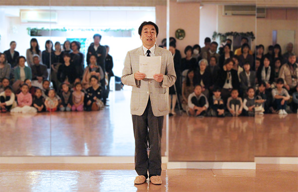 フレンチバロック・オペラについて藤本常任理事から説明いただきました
