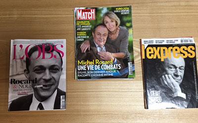 ロカールを特集する仏雑誌