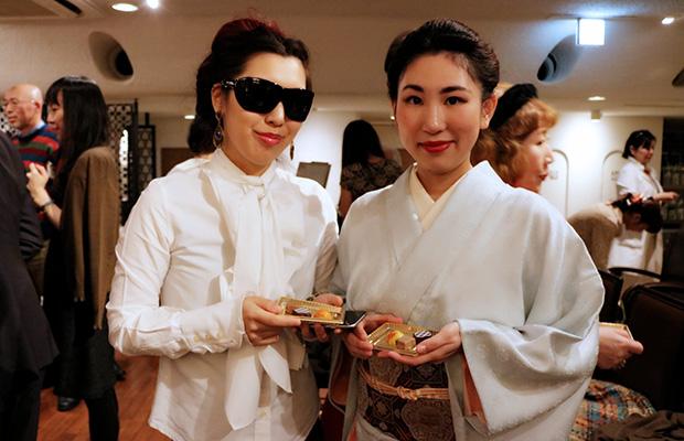 素敵な着物姿で姉妹でご参加された飯尾様