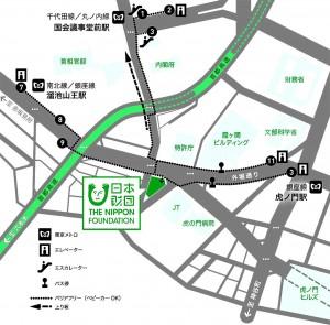 nihonzaidan map