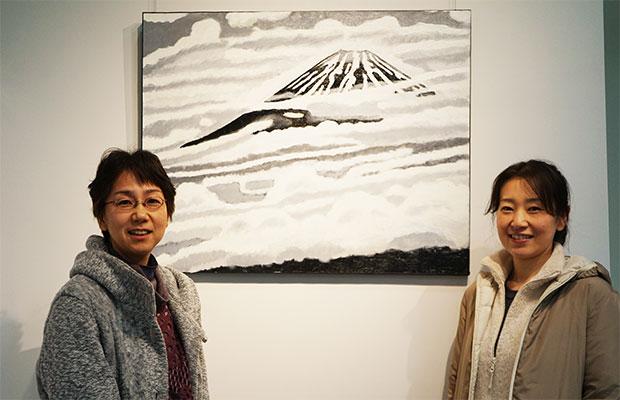 上田さん(左)と小坂さん