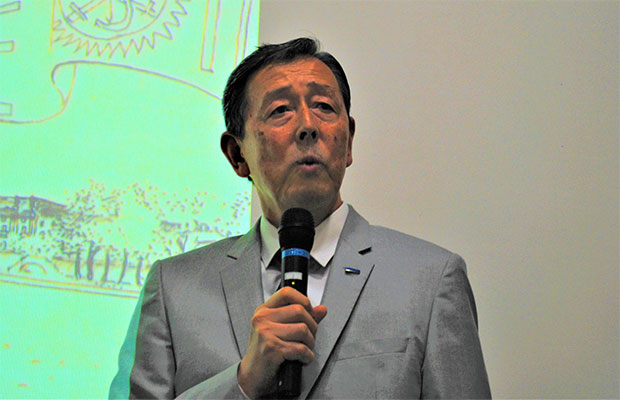 株式会社アロイ西田光作社長