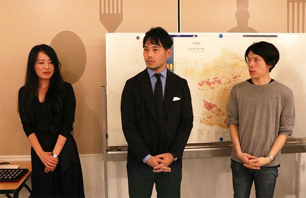 上位入賞の3名(左から太田さん、大倉野さん、小野塚さん)