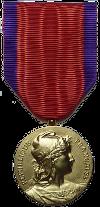 ルネサンス・フランセーズのメダル