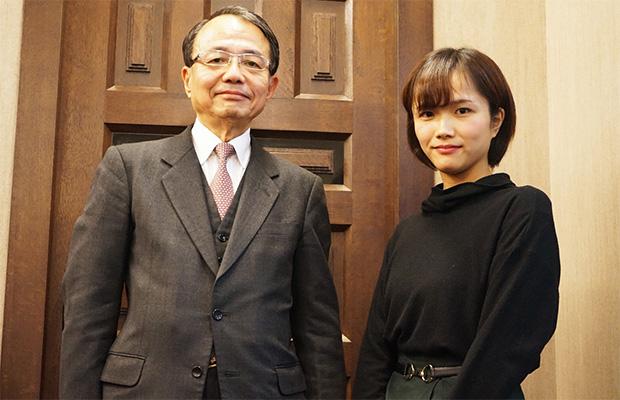 中谷幸俊さんと娘の巴留菜さん