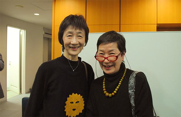 中村さん(左)と鳥取さん