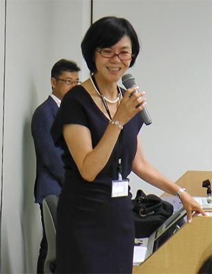 司会の伊藤副会長