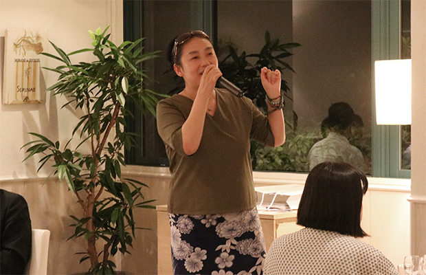 日本ビアジャーナリスト協会副代表の野田幾子さん