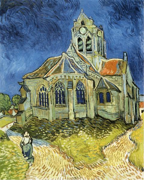 オーベールの教会