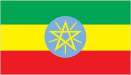 (エチオピア国旗)